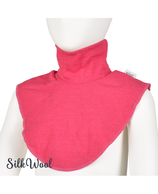 Turtleneck Collar - Raspberry