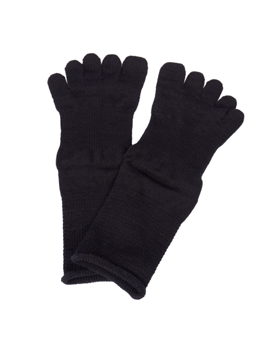 Organic cotton toe socks -...