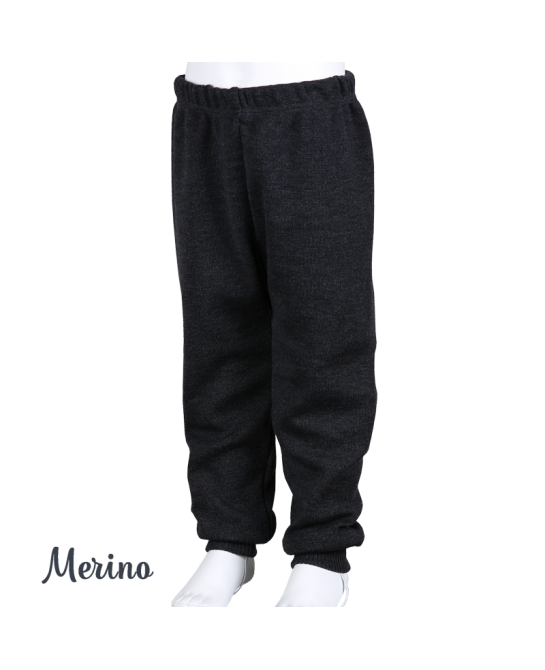 Merino wool pants - Dark grey