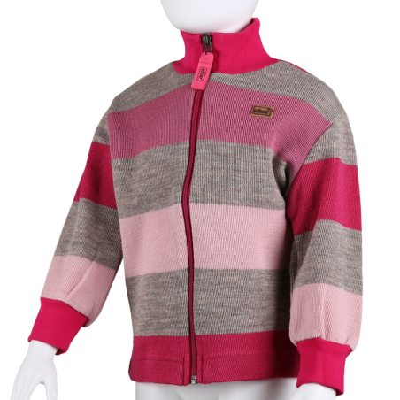 Striped Pink / Beige